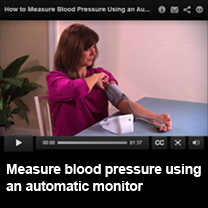 Video: how to measure blood pressure with an automatic monitor